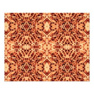 primer rojo de la libélula del batik y papel fino