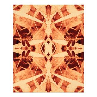 primer rojo del diamante del batik y papel fino