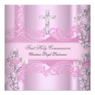 Primer rosa del cordón de la comunión santa del comunicados personales