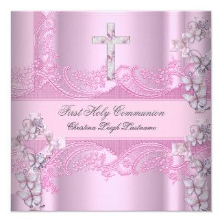 Primer rosa del cordón de la comunión santa del