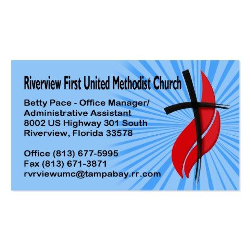 Primer UMC administrador de oficinas de Riverview Tarjeta De Visita