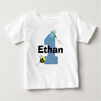 Primera camisa del cumpleaños de la abeja y de la