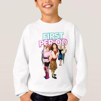 Primera camisa del poster del período