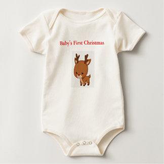 primera camiseta de los duendes y del navidad de
