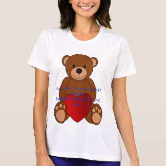 Primera camiseta del amor usted mismo