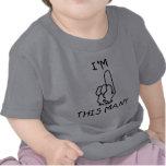 Primera camiseta del cumpleaños