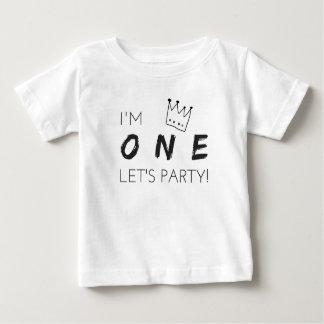 """¡Primera camiseta del cumpleaños """"soy UNA, nos"""