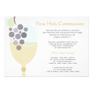 Primera comunión anuncio