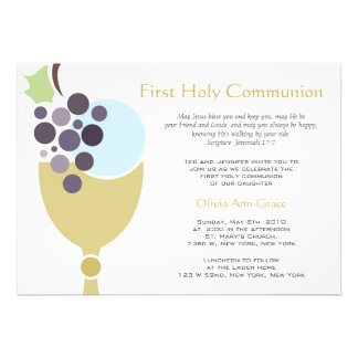 Primera comunión comunicado personal