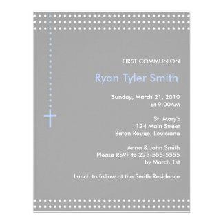 Primera comunión invitacion personalizada