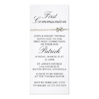 Primera comunión invitación 10,1 x 23,5 cm