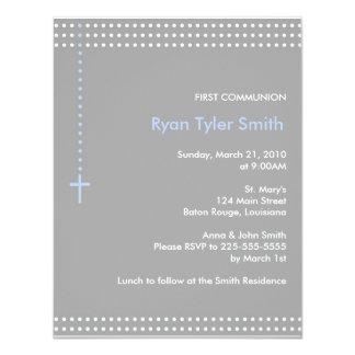 Primera comunión invitación 10,8 x 13,9 cm