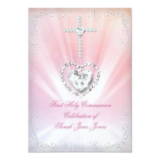 Primera comunión santa divinamente 2 rosados comunicados personales