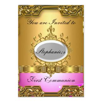Primera comunión santa invitacion personal