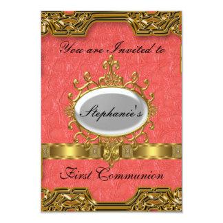 Primera comunión santa invitación 8,9 x 12,7 cm