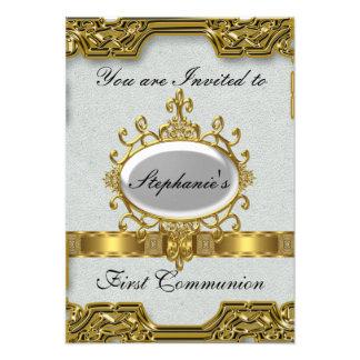 Primera comunión santa invitaciones personales