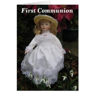 Primera comunión felicitación