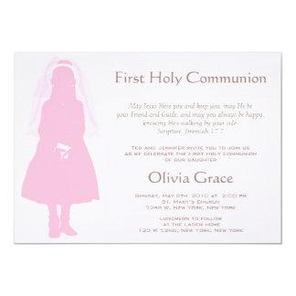 Primera comunión y invitación - chica