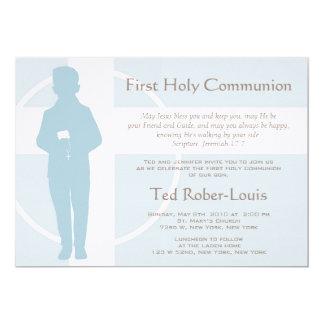 Primera comunión y invitación - muchacho