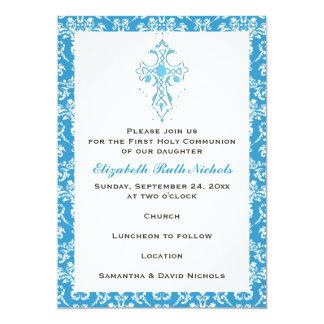 Primera confirmación del bautismo de la comunión invitación 12,7 x 17,8 cm