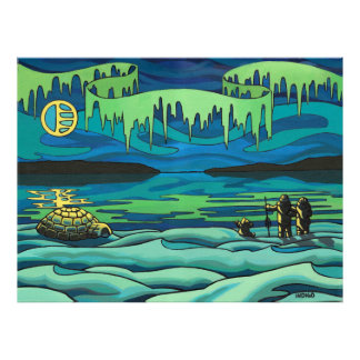 Primera decoración del hogar del amor del Inuit de Impresiones