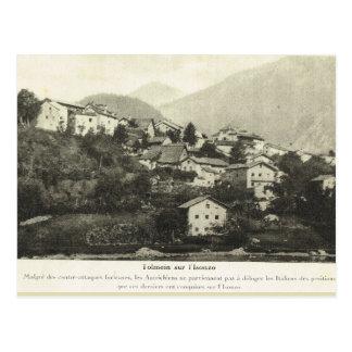 Primera Guerra Mundial, ciudad austríaca Postal