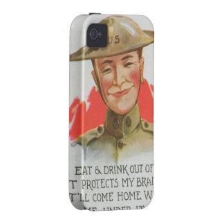 Primera Guerra Mundial iPhone 4 Funda