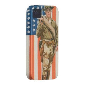 Primera Guerra Mundial Case-Mate iPhone 4 Carcasas
