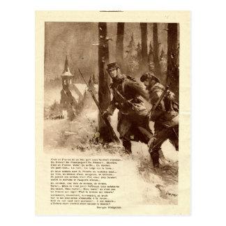 Primera Guerra Mundial, poesía de la guerra Postal