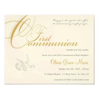 Primera invitación de la comunión