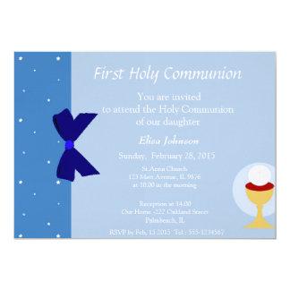 Primera invitación de la comunión invitación 12,7 x 17,8 cm
