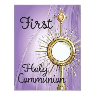 Primera invitación de la comunión de la púrpura