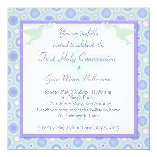Primera invitación de la comunión de los círculos