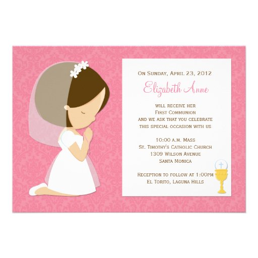 1St Holy Communion Invites as adorable invitations ideas