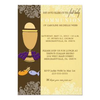 Primera invitación de la comunión para los