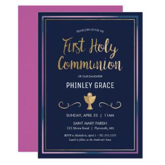 Primera invitación de la comunión santa -