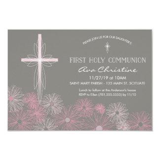 Primera invitación de la comunión santa con la