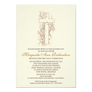 Primera invitación de la comunión santa - cruz