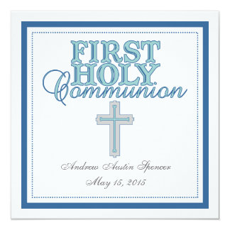 Primera invitación de la comunión santa de la cruz