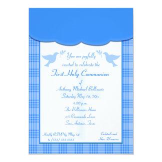 Primera invitación de la comunión santa de la tela