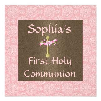 Primera invitación de la comunión santa de los chi