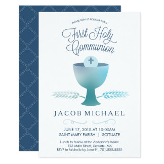 Primera invitación de la comunión santa - el