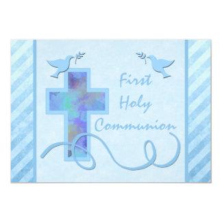 Primera invitación de la comunión santa para un