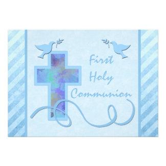 Primera invitación de la comunión santa para un mu