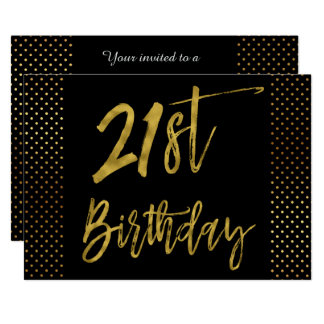 Primera invitación del cumpleaños del efecto