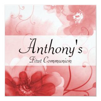Primera invitación formal de la comunión del