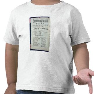 Primera página del 'La Vida es Sueno Camiseta