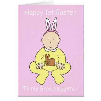 Primera Pascua feliz a mi nieta Felicitaciones