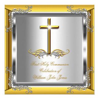 Primera plata 2 del oro de la comunión santa del m