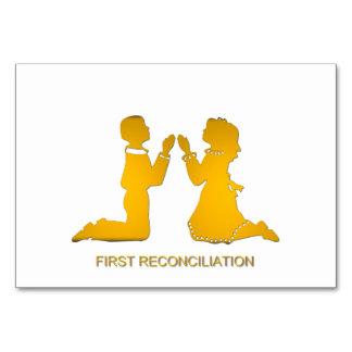 Primera reconciliación